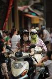 Autoped in Vietnam stock foto
