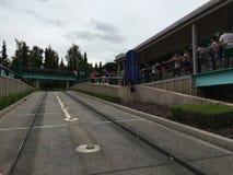 Autopia car ride at Disneyland Park Stock Photos