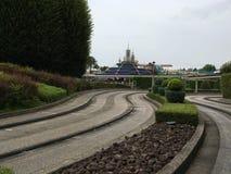 Autopia car ride at Disneyland Park Stock Photo