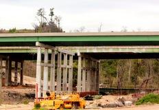 Autopista bajo construcción Fotografía de archivo