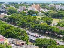 Autopista en Mauricio Fotografía de archivo