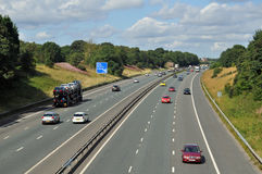Autopista M61 Imagen de archivo