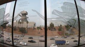 Autopista sin peaje de Los Ángeles almacen de metraje de vídeo