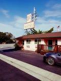 Autopista sin peaje del mesón de día de fiesta de Santa Cruz del hotel del motel Imagenes de archivo