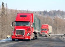 Autopista sin peaje interurbana Imagen de archivo libre de regalías