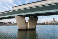 Autopista urbana Imagen de archivo libre de regalías