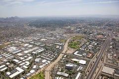 Autopista 17 y avenida de Peoria imagen de archivo libre de regalías
