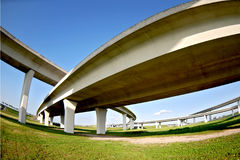 Autopistas Fotografía de archivo libre de regalías