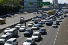 Autopistas de Auckland Imagenes de archivo