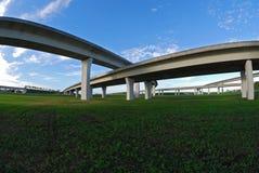 Autopistas del sur de la Florida. Imagen de archivo