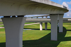 Autopistas del sur de la Florida. Imágenes de archivo libres de regalías