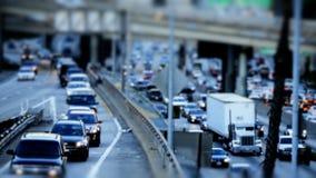 Autopistas sin peaje de Los Ángeles almacen de video