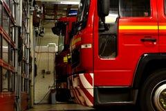 Autopompa antincendio britannica Immagini Stock Libere da Diritti