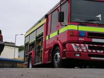 Autopompa antincendio britannica Fotografia Stock Libera da Diritti