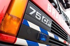 Autopompa antincendio olandese Immagine Stock