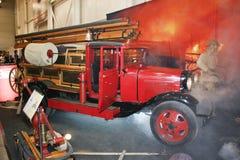 Autopompa antincendio PMG-1 sui telai di GAZ-AA, 1932-1941 Fotografia Stock Libera da Diritti