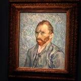 Autoportrait του Βαν Γκογκ Στοκ φωτογραφία με δικαίωμα ελεύθερης χρήσης