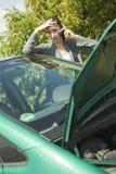 Autoproblem stockfotos