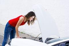 Autoprobleme Lizenzfreie Stockbilder