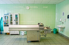 Autopsieraum lizenzfreies stockbild