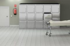 Autopsja pokój Zdjęcia Stock