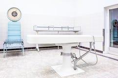 Autopsja stoły w kostnicie zdjęcie royalty free