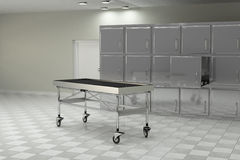 Autopsy room Royalty Free Stock Images