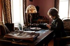 Autor joven foto de archivo libre de regalías