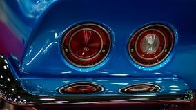 Autorama '13 - Rücklichter Chevy Corvette Stingrays (C3) Stockbilder