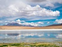 Autoreise in den Anden Lizenzfreies Stockfoto