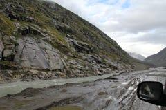 Autoreise zu Leh-ladakh Stockfotografie