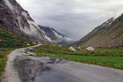 Autoreise zu Leh-ladakh Stockbilder