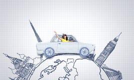 Autoreisen Lizenzfreie Stockfotos