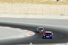 Autorennen Royalty-vrije Stock Foto's