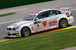 Autorennen (Alessandro ZANARDI, de FIA WTCC) Stock Afbeelding