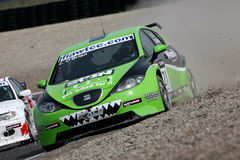Autorennen, de FIA WTCC Stock Fotografie