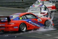 Autorennen, de KOP van PORSCHE CARRERA Stock Afbeeldingen