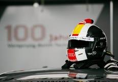 Autorennen (Tom KRISTENSEN, DTMrace) Royalty-vrije Stock Afbeelding