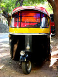 Autorickshaw. An autorickshaw - A common, cheap but risky mode of public transport in India. It consists only of 3 wheels Royalty Free Stock Images