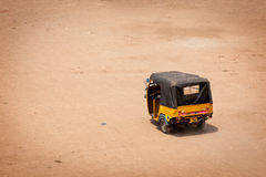 Autorickshaw in the street. India Stock Photos