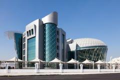 Autoridad de la identidad de los emiratos en Abu Dhabi Foto de archivo libre de regalías