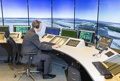 Autoridade de serviços do tráfico aéreo fotos de stock