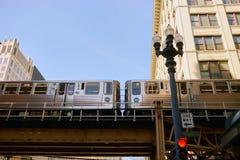 Autoridade do trânsito de Chicago foto de stock