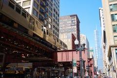 Autoridade do trânsito de Chicago imagem de stock