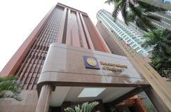 Autoridade monetária do MAS de Singapura fotografia de stock