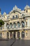 Autoridade portuária de Barcelona fotos de stock royalty free