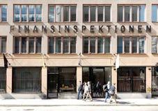 Autoridade supervisória financeira do ` s da Suécia imagem de stock