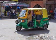 Autoriksjataxi in Jodhpur, India. stock fotografie