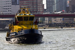 Autorità del porto di Rotterdam Immagini Stock
