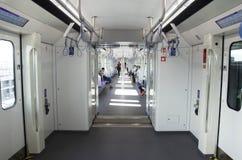Autorità di massa di transito rapido della Tailandia MRTA o della porpora Li di MRT immagini stock